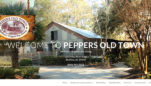 Commerical Photography and Web Site by Carolina Web Development & Laura Kerbyson