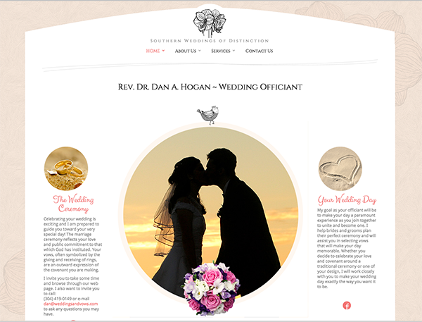 Web design and creative concept by Carolina Web Development and Laura Kerbyson