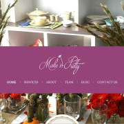 Web Design by Laura Kerbyson and Carolina Web Development
